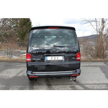 VW Bus T5//T6 1.9TDI-3.2 VR6 77-173KW Edelstahl Verbindungsrohr langer Radstand